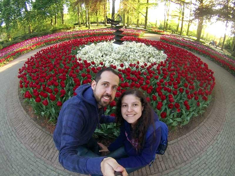 quando ver jardins de tulipas