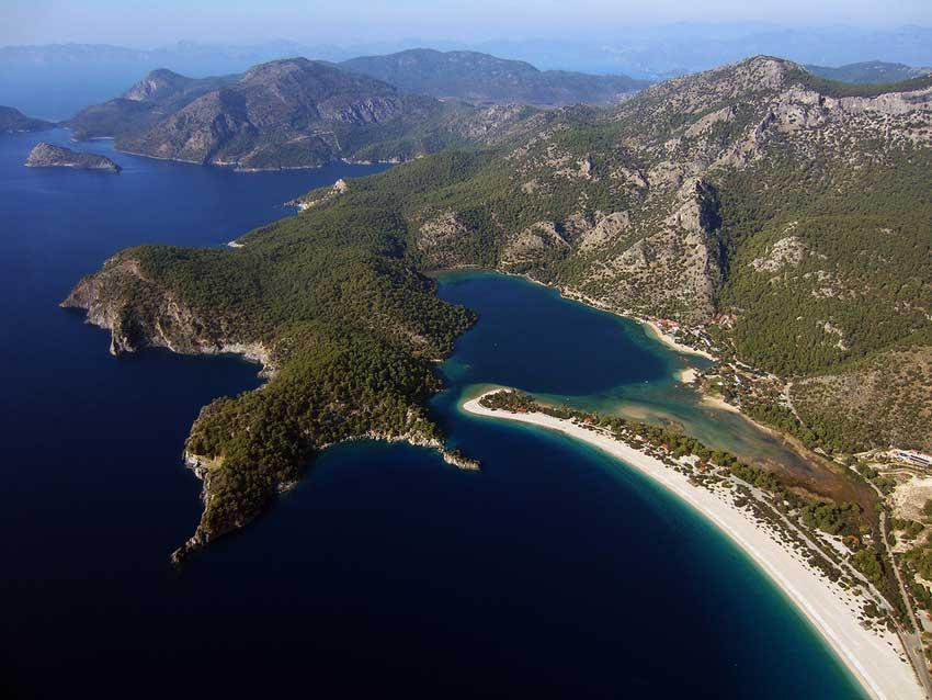 praia lagoa azul turquia