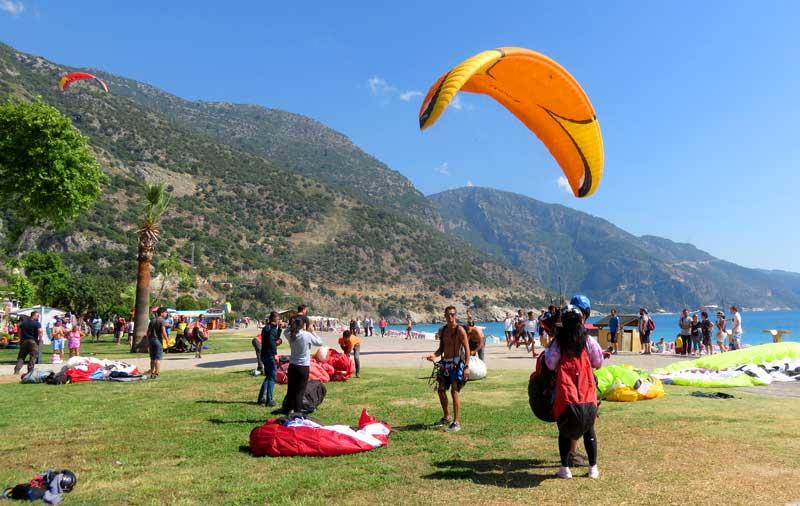 paraglider Ölüdeniz