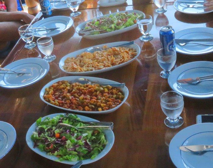 comida cruzeiro turquia