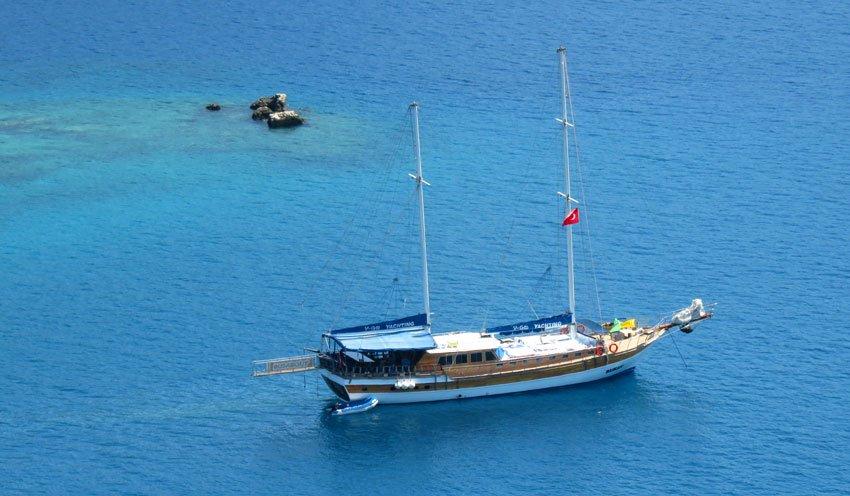 Cruzeiro de Gulet na costa da Turquia, veja como são os barcos e a viagem