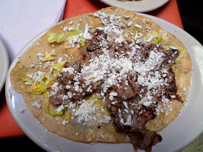gastronomia cidade do mexico