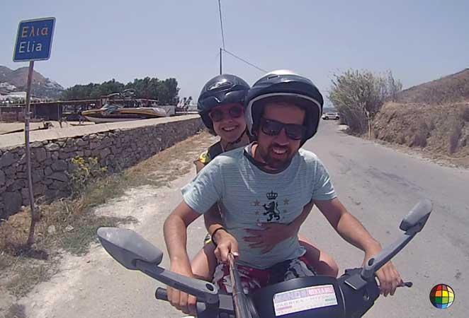 scooter moto mykonos