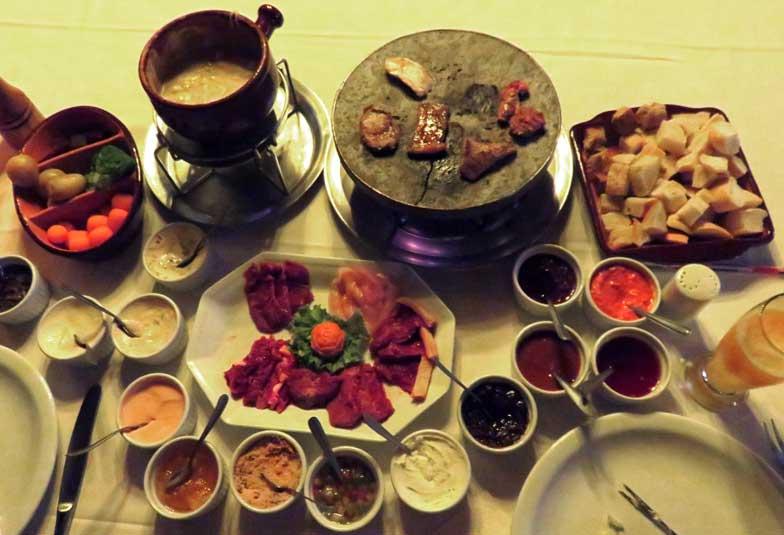onde comer fondue em Gramado