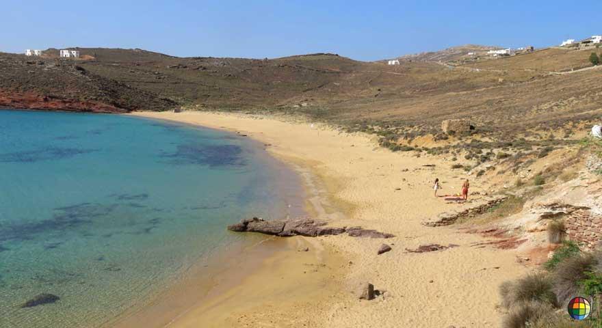 Agio Sostis praia mais bonita mykonos