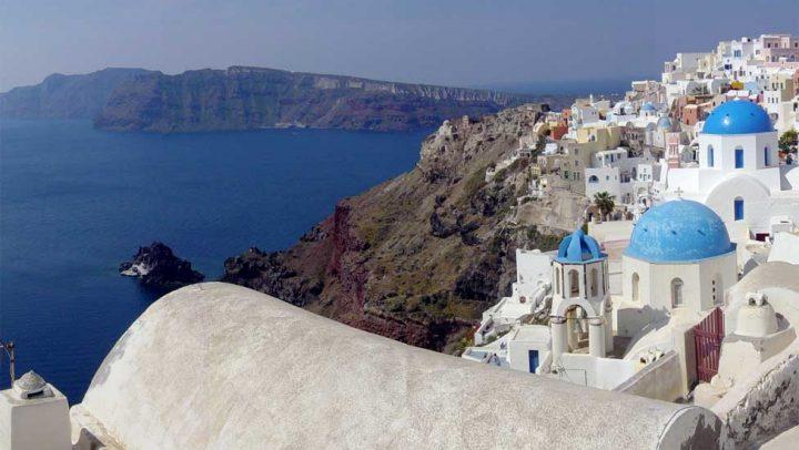 Santorini - Foto: Wikipédia (CC BY-SA 3.0)