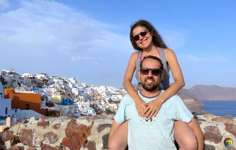 ilhas de santorini grécia