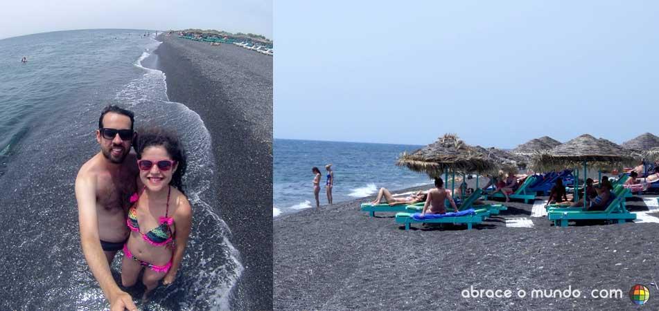 praias de santorini grecia