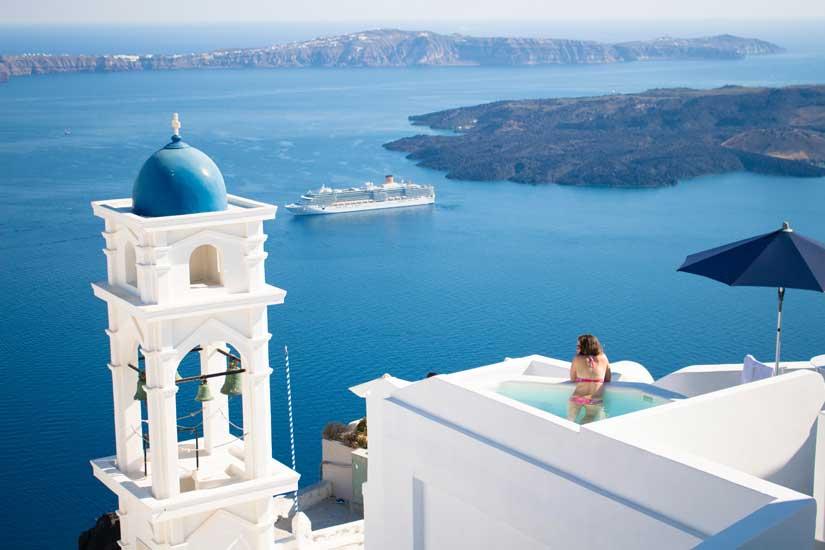 santorini grecia hotel luxo