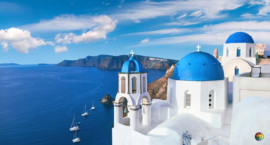 uma das mais belas ilhas da grécia