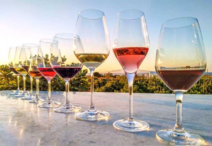 vinho Assyrtiko vinicola santorini
