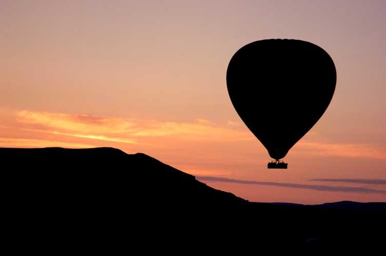voo balão capadocia