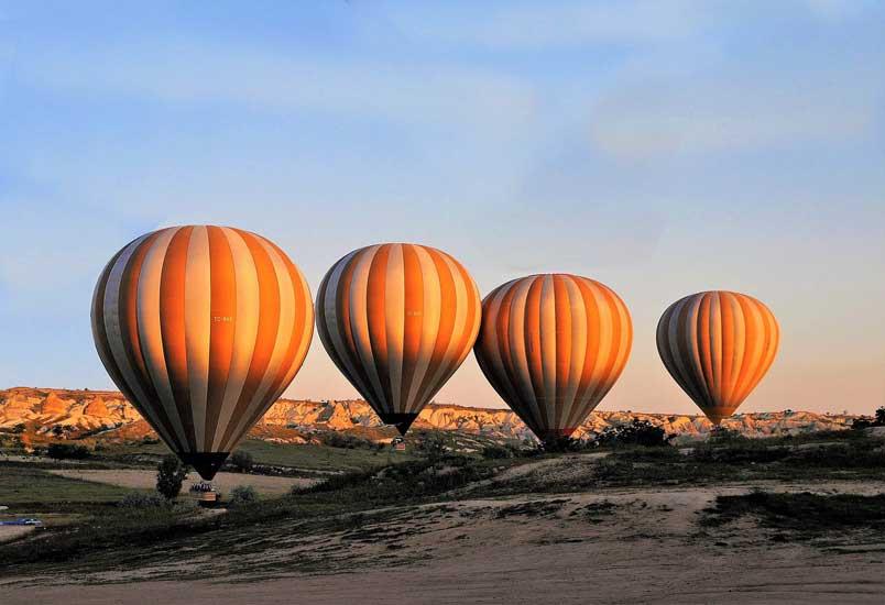 balões da capadócia
