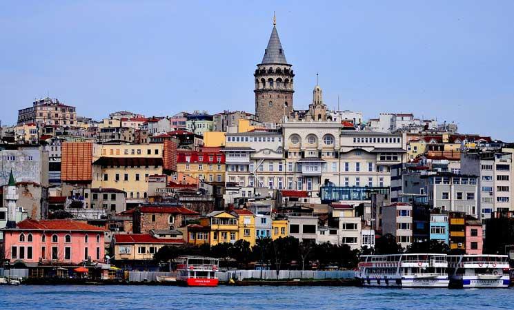 bairros de istambul