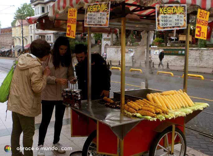 comida tipica da turquia