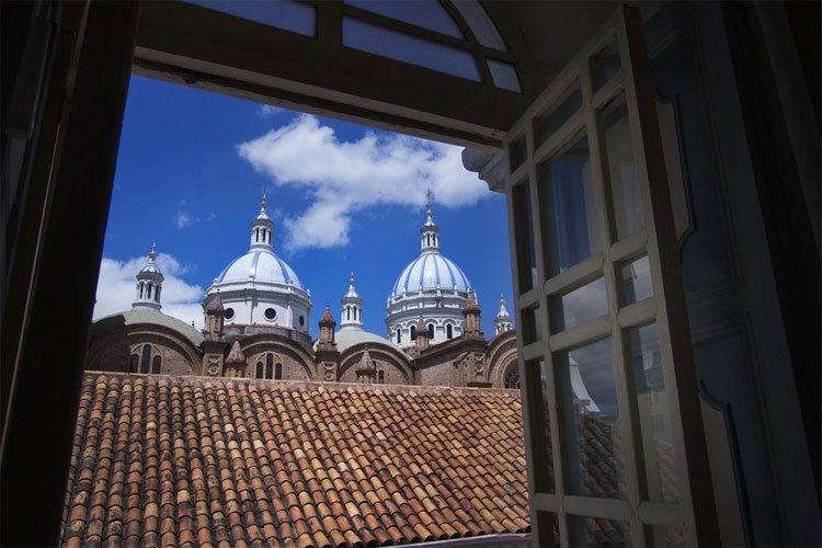 hotel com vista da catedral de cuenca