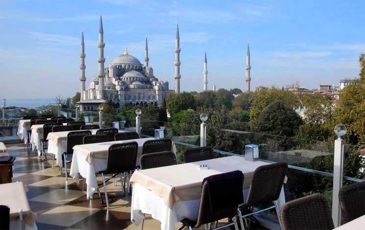 hoteis com vista istambul