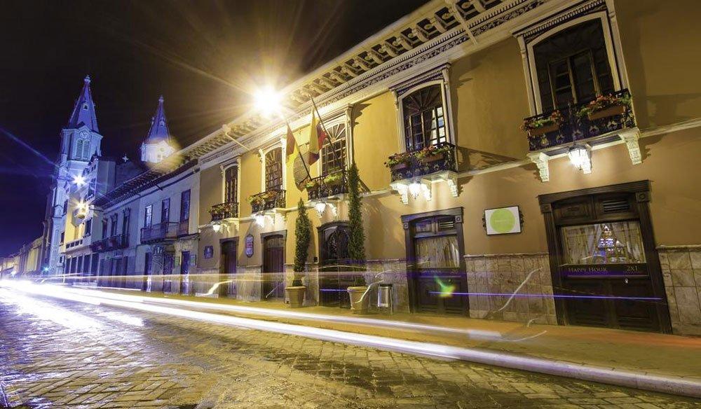 hotel centro historico de cuenca