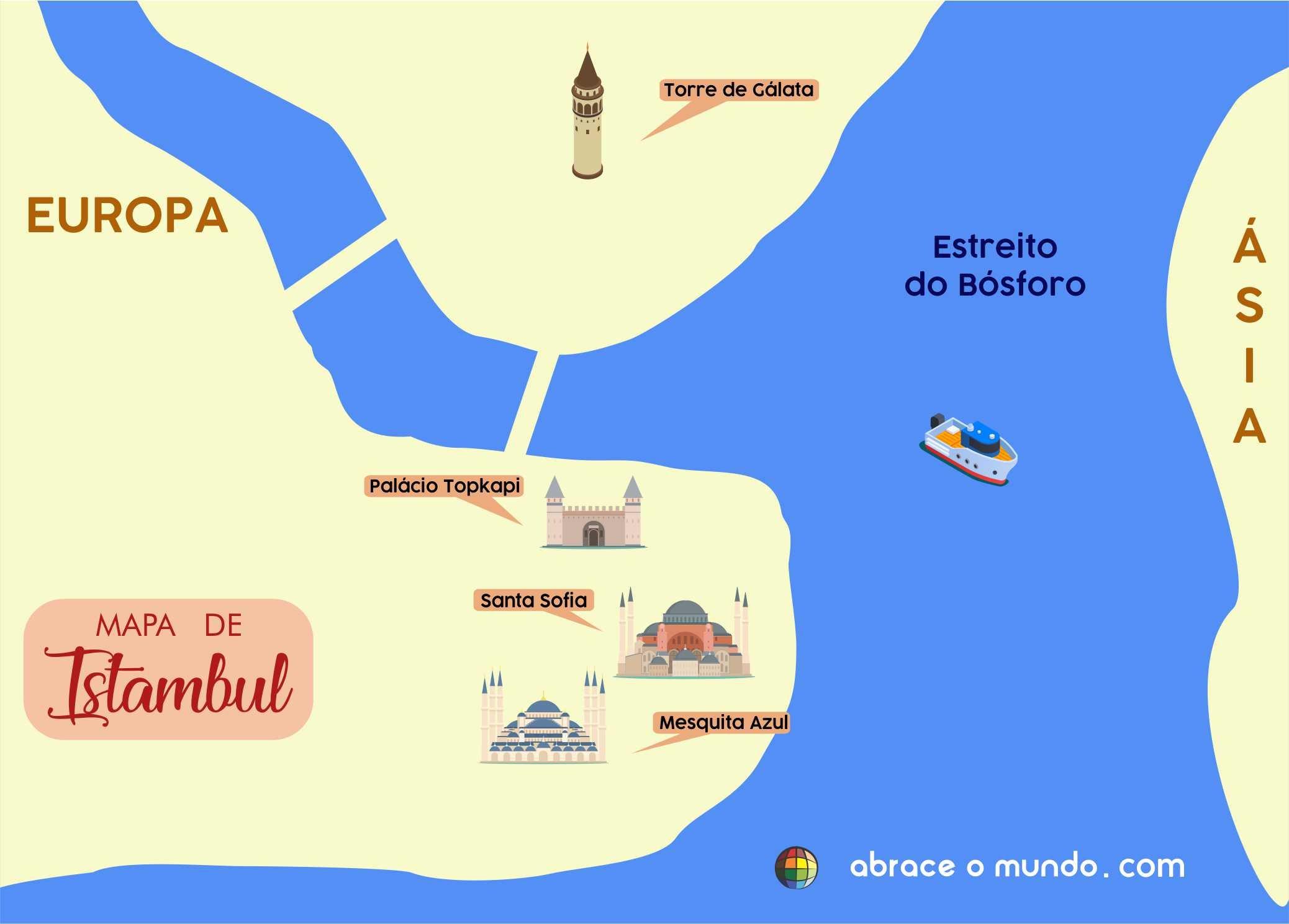 istambul mapa