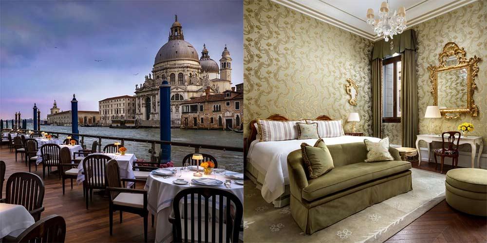 melhor hotel de veneza com vista do grande canal