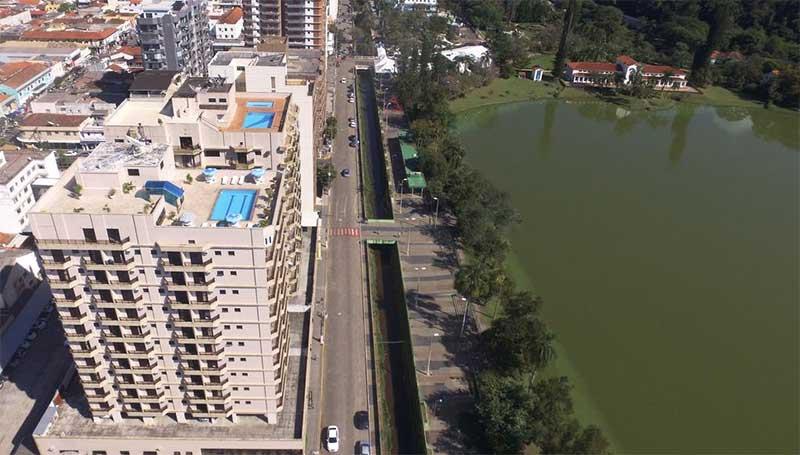 hotel em frente ao aprque das águas são lourenço