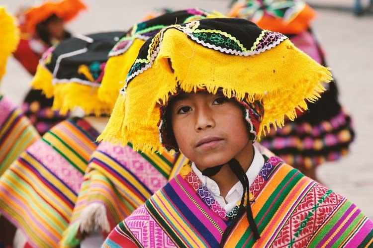 cultura peru danã tipica