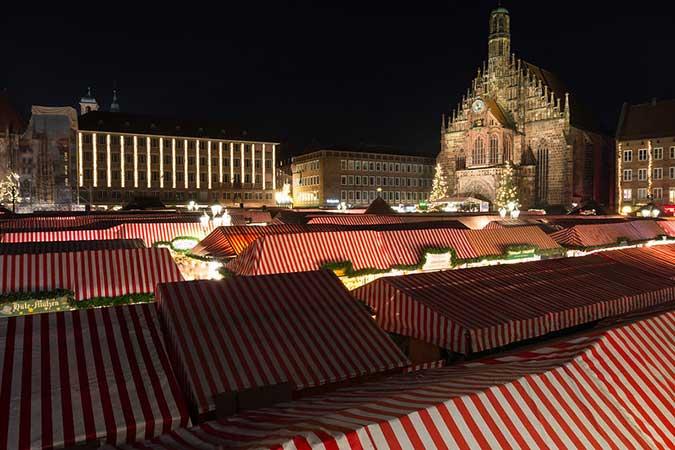 feira de natal Christkindlesmarkt nuremberg
