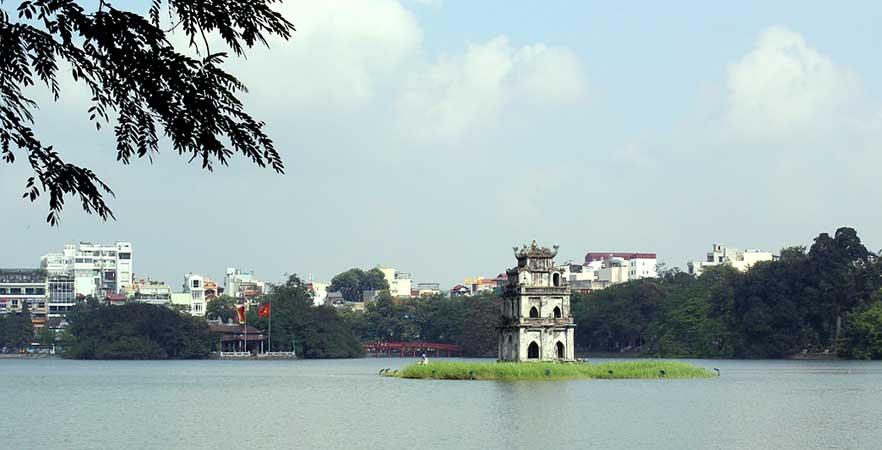 bairros com hoteis em hanoi