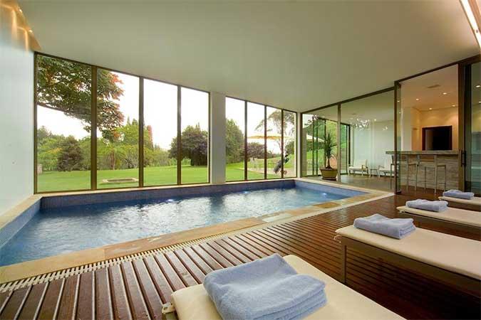 piscina do melhor hotel resort sao joao del rei