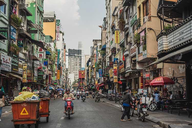 bairro mochileiro ho chi minh vietna