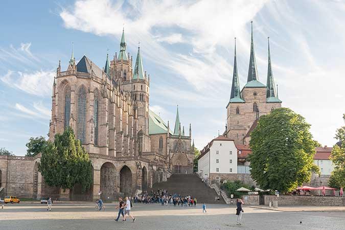 Catedral de Erfurt alemanha