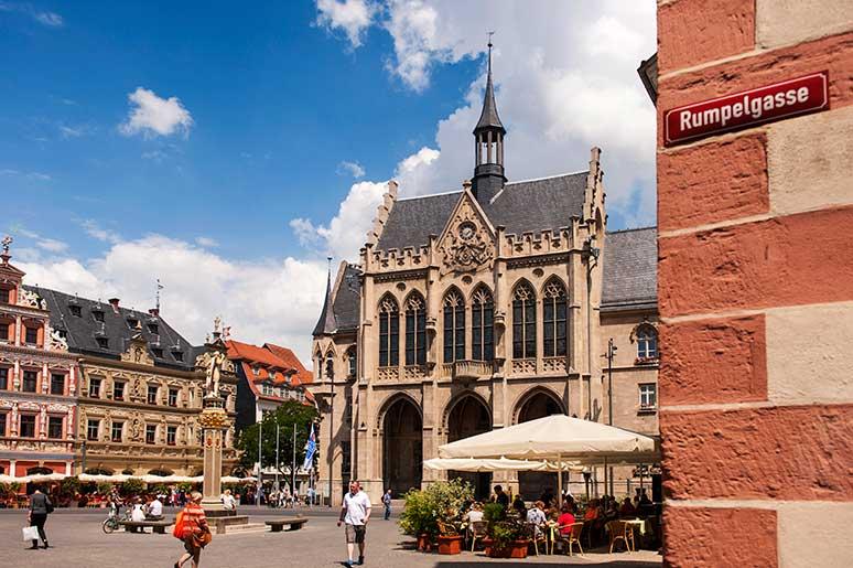 cidade historica erfurt alemanha