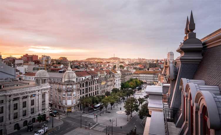 hotel luxo 5 estrelas porto centro portugal