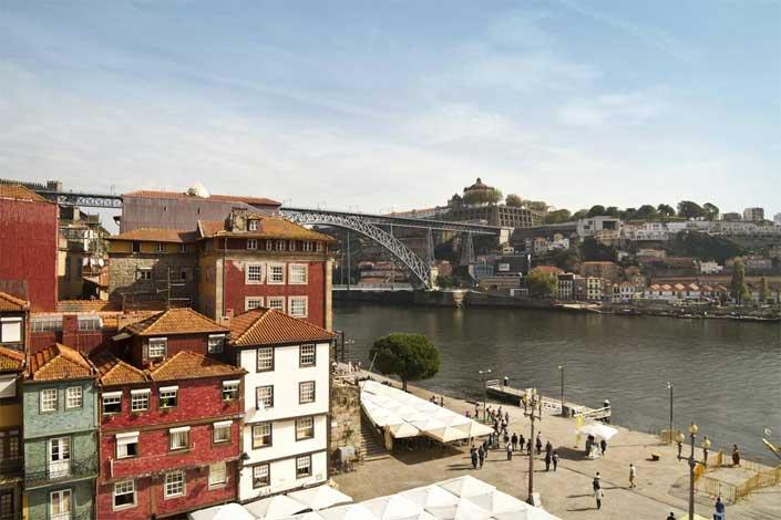 hoteis ribeira porto portugal