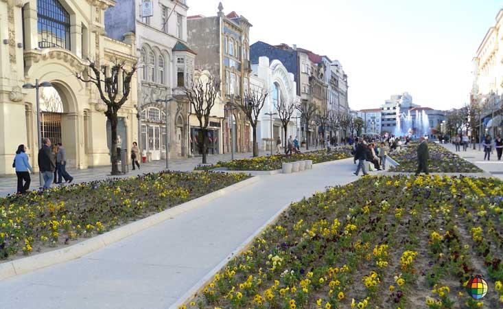 primavera em braga portugal
