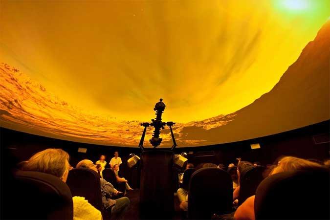 Espaço do Conhecimento da UFMG com seu planetário