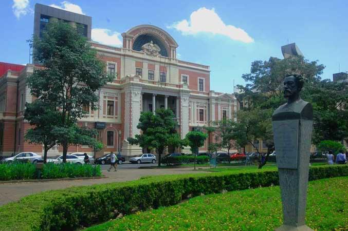 Museu das Minas e do Metal localizado na Praça da Liberdade