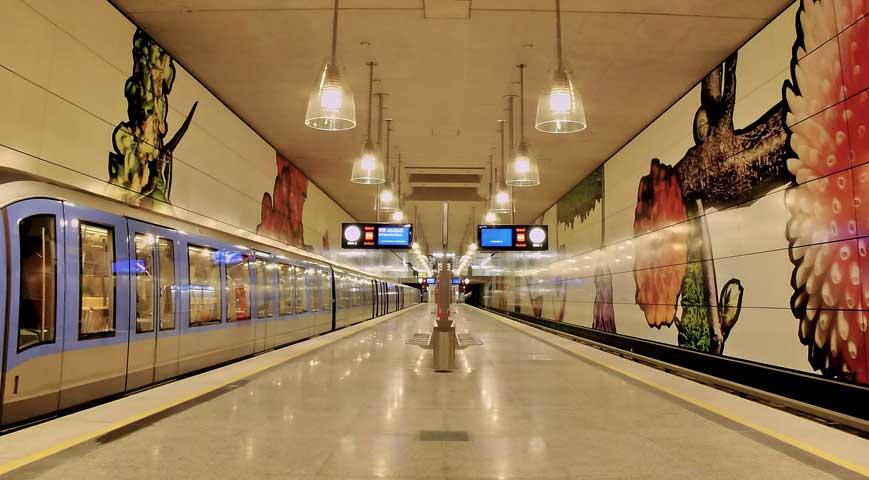 transporte publico metro munique