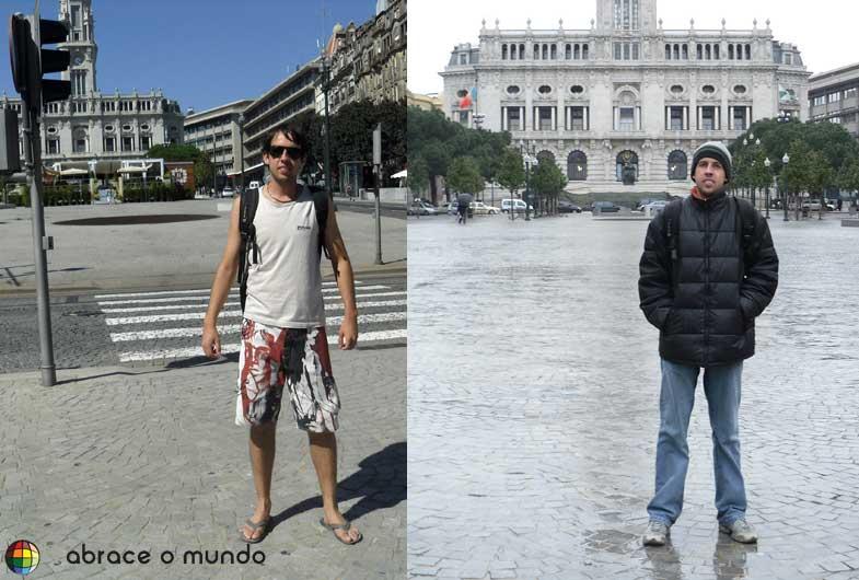 clima verão inverno porto portugal