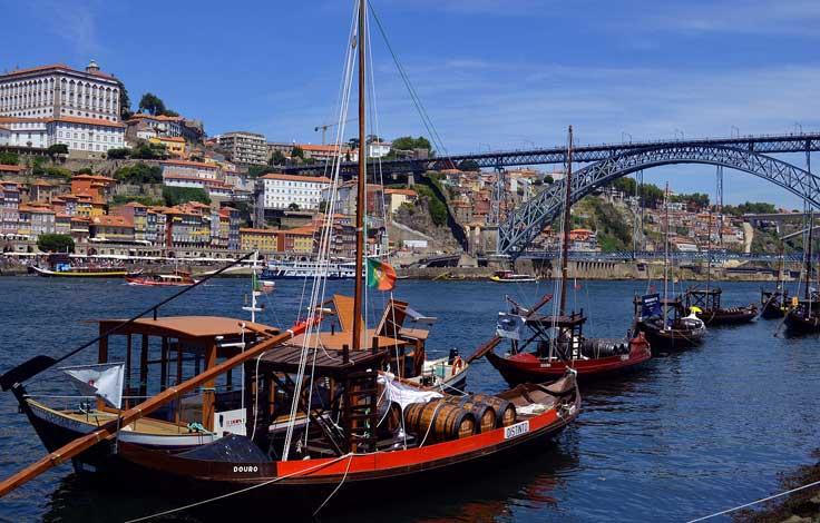 pontos turísticos porto portugal