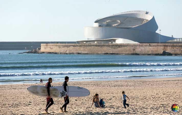 praia de matosinhos portugal
