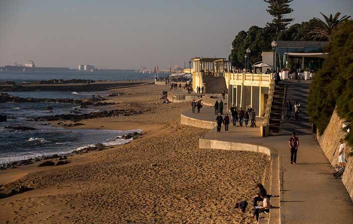 Praia dos Ingleses foz portugal