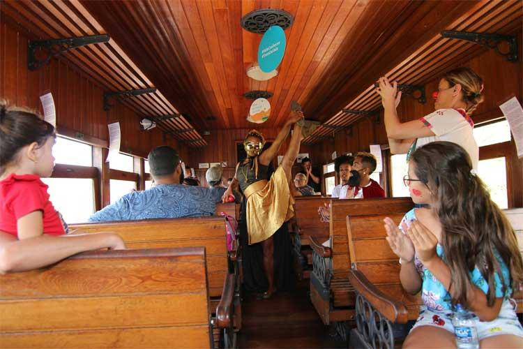 vagão trem da vale maria fumaça ouro preto