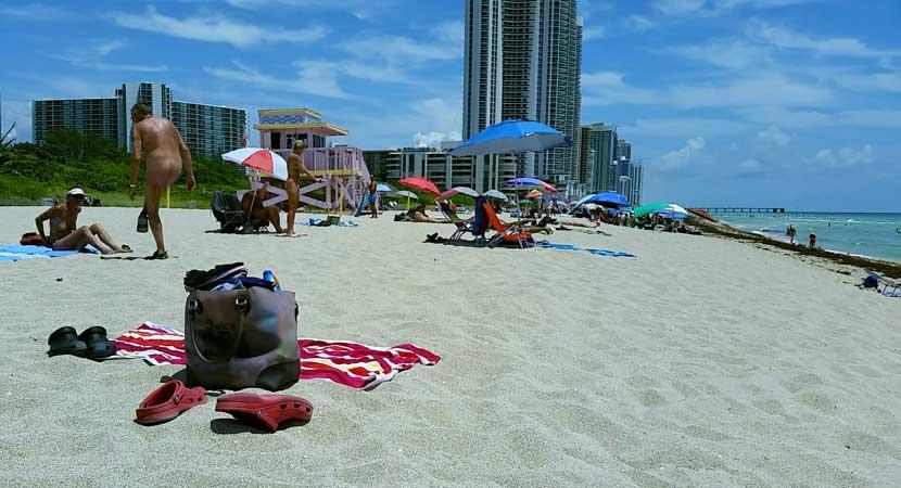 praia de nudismo miami Haulover Beach