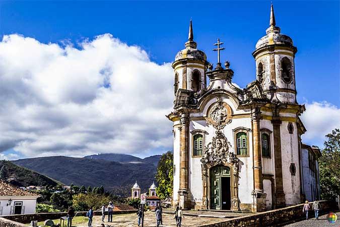 igreja são francisco de assis ouro preto