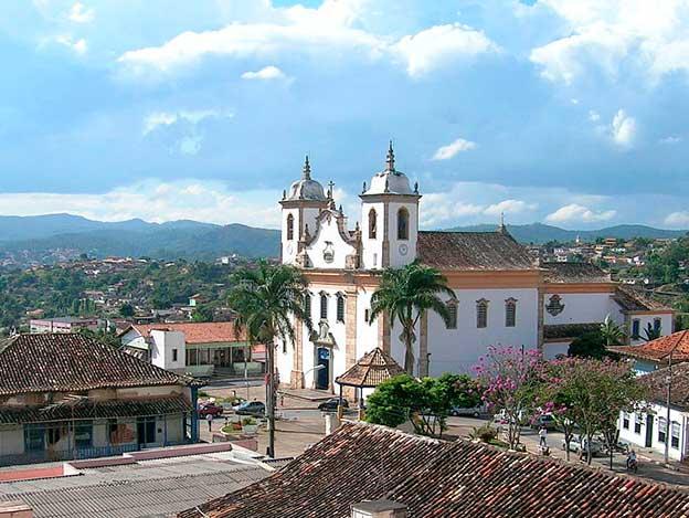 Igreja Nossa Senhora do Bonsucesso em Caeté