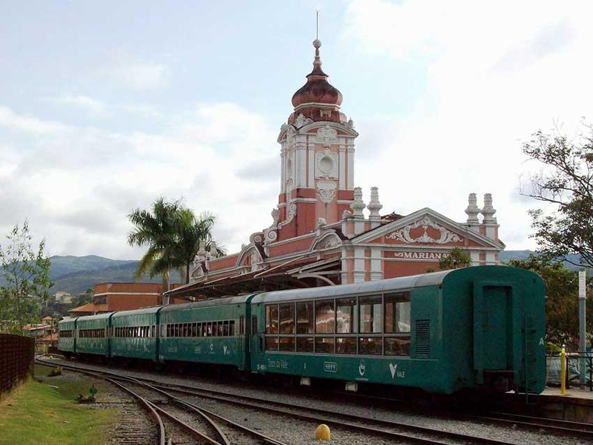 Caminho dos Diamantes da Estrada Real - Ferrovia em Mariana