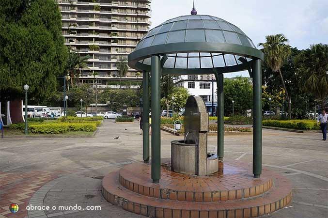 Praça poços de caldas