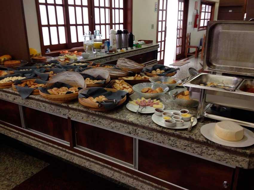hotel em Diamantina café da manhã