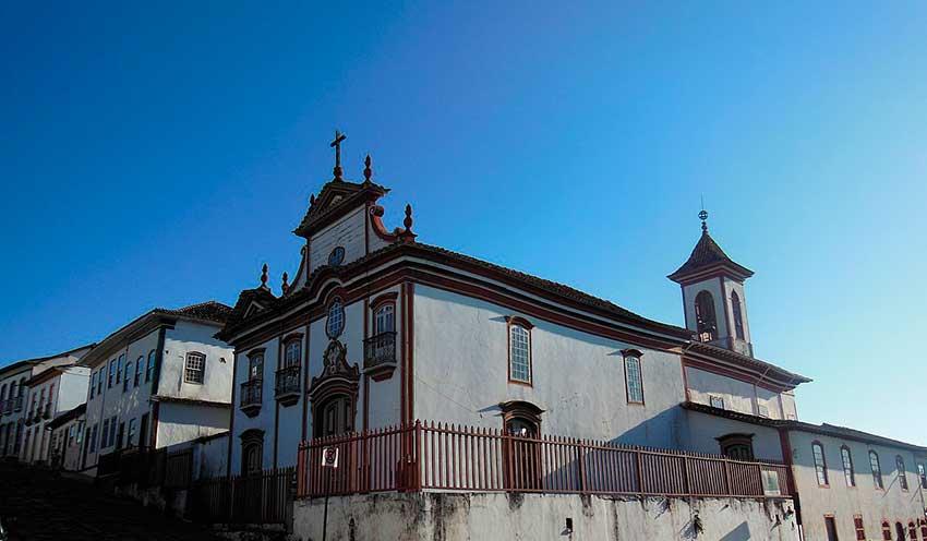 igreja Diamantina MG